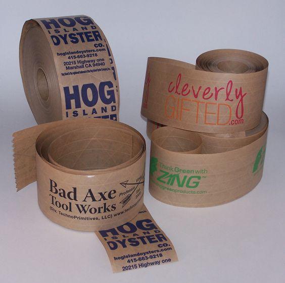 Custom written paper tape