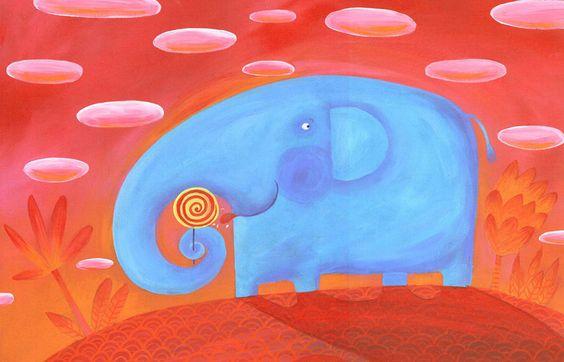 Pinzellades al món: Illustrations of elephants / Il·lustracions d'elefants / Ilustraciones de elefantes / Illustrations des éléphants / Illustrazioni di elefanti: