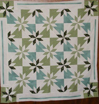 Hunters Star Quilt Block Pattern Hunter s Star - Page 2 nature Pinterest A well ...