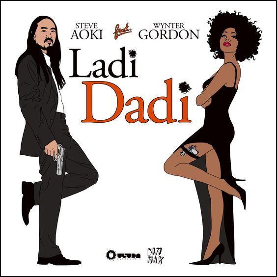 Steve Aoki, Wynter Gordon – Ladi Dadi (single cover art)