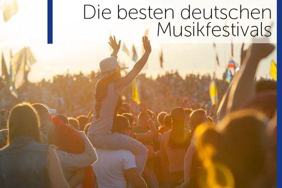 Die besten #Musikfestivals 2016 in #Deutschland findest Du hier!