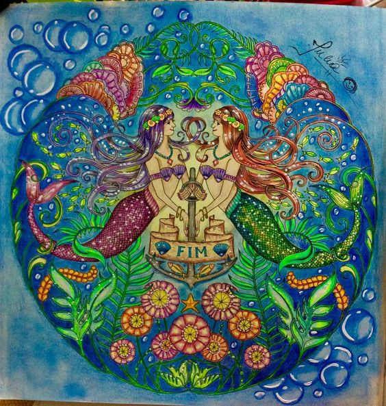 Oceano perdido, amei minhas sereinhas ! Inspirada nos ensinamentos de by@carolpafiadache ! #livrocoloriramo #livrodecolorir #foretenchantée #forum_da_criatividade #johannabasford #livrocoloriramotop #desenhoscolorir #desenhosparacolorir #divadasartes #bayan_boyan #jardimsecreto #jardim_da_isa #foretenchantée #jardimsecreto #jardimdascores #atelieginapafiadache #florestaencantada #florestaencantada2 #florestaencantadatop #jardimsecretoinspire #jardimsecretofans #jardimsecretolove #lost...