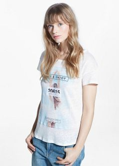 Camiseta lino imagen