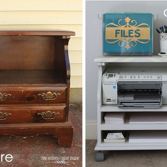 Ingenious Repurposing Unusual Kitchen Islands And Printers: Home, Crafts And Printers