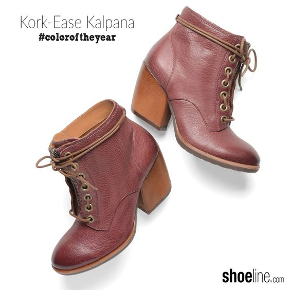 modern hiker lace up #boot in #marsala #coloroftheyear #pantone #shoes #boots #PromotionCodesFor
