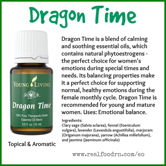 Dragon Time Essential Oil. Support your emotions during that special time of the month. #dragontime #essentialoils