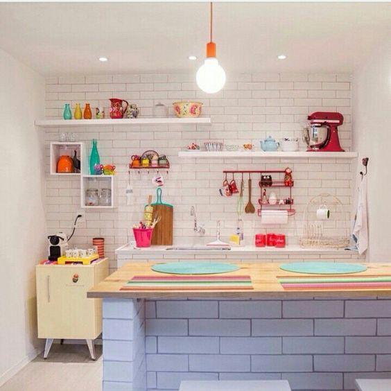 Cozinha lindíssima.