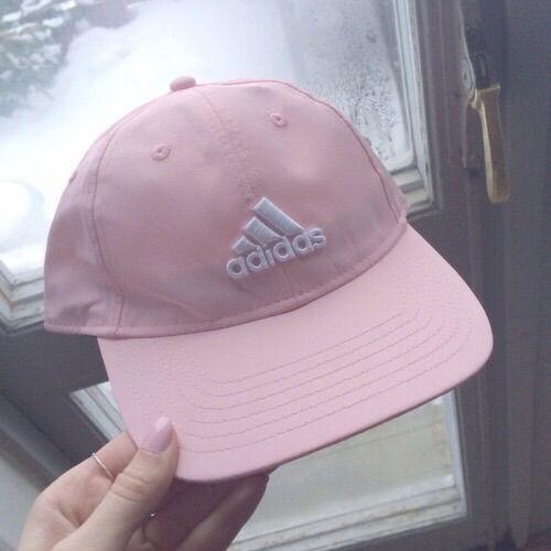Image via We Heart It #adidas #gorl #grunge #pink #white #cute