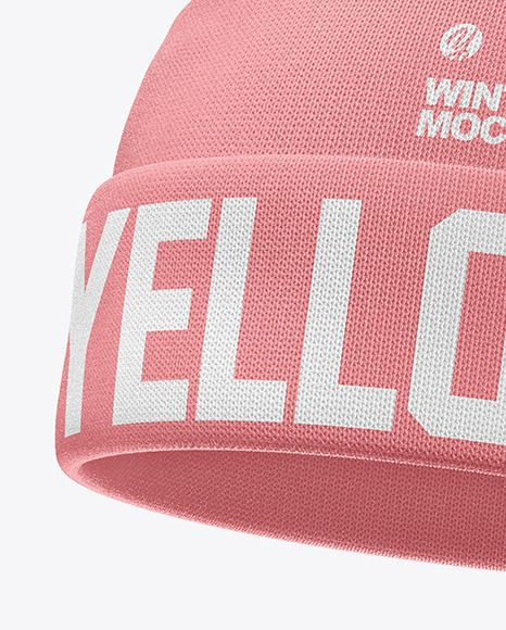 Download Winter Hat Mockup Present Your Design On This Mockup Includes Special Layers And Smart Objects For Your Creative Works Tags Winter Hats Clothing Mockup Hats