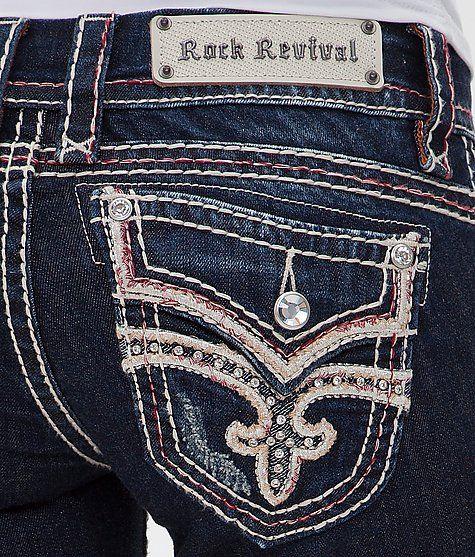 Rock Revival Luz Skinny Stretch Jean - Women's Jeans | Buckle