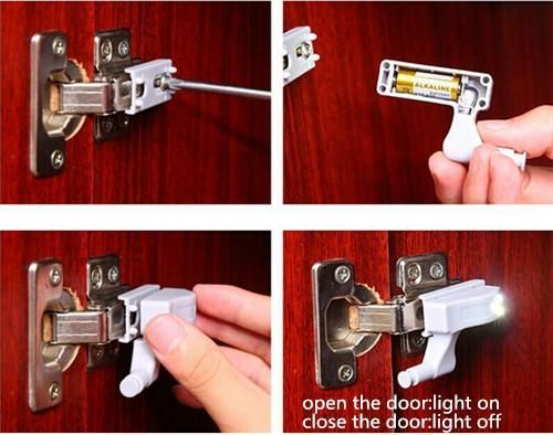 Led Automatic Switch Cabinet Improve Your Closet And Make Things Easier Bedroom Cabinets Closet Cabinets Cabinet Cupboard