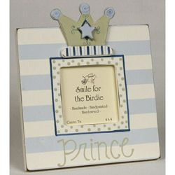 Prince Dots and Stripes Picture Frame
