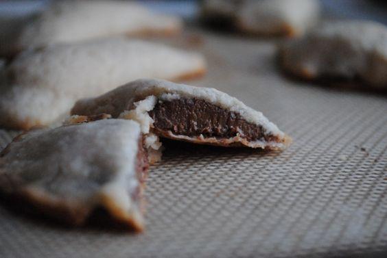 Nutella Pocket Cookies