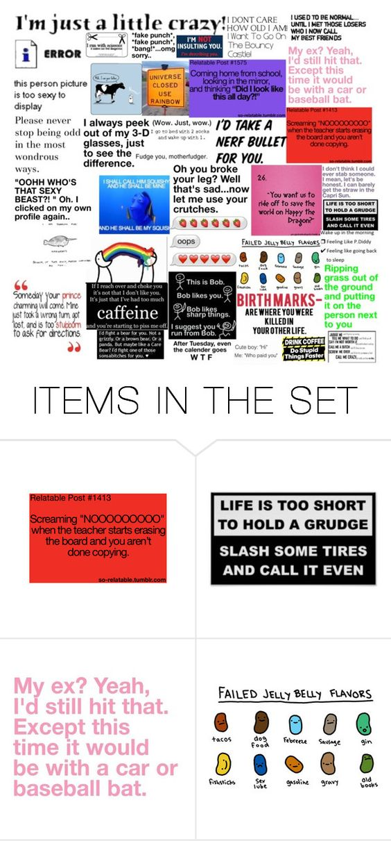 """Im not crazy. My reality is just different to yours!"" by frizzynorse ❤ liked on Polyvore featuring art"
