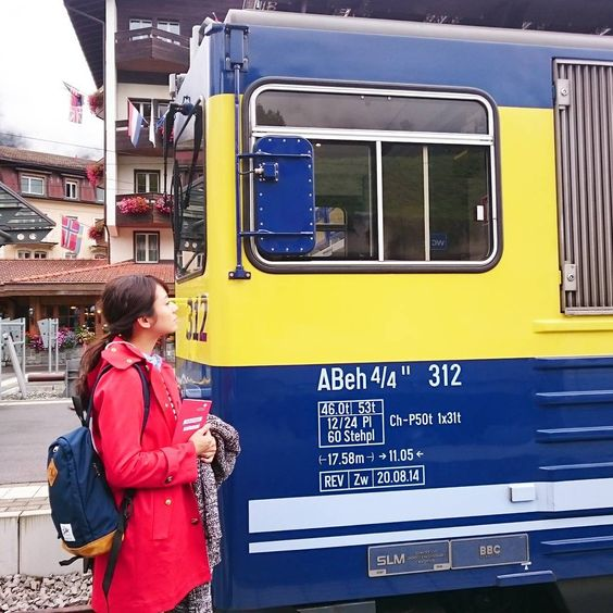 電車と木村文乃