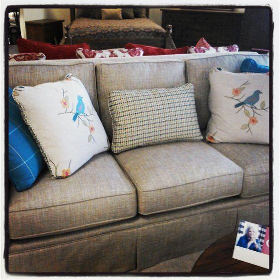 Paula Deen Couch Bluebirds My Retreat Work In
