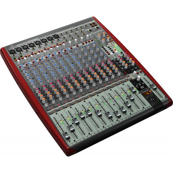 Behringer UFX1604 DJ-Mixer      #Behringer #UFX1604 #Mischpulte  Hier klicken, um weiterzulesen.