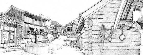 Real Life studies by Mattias Adolfsson, via Behance