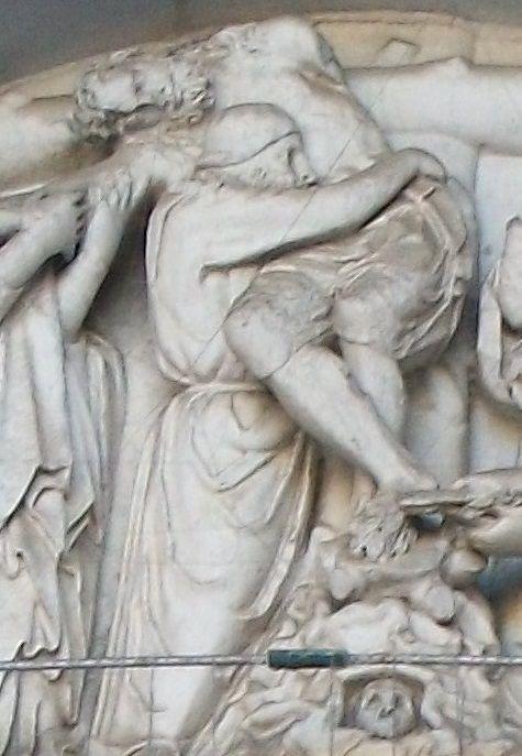 Nicola Pisano: Deposizione e Natività (1245 circa). Lucca, Duomo