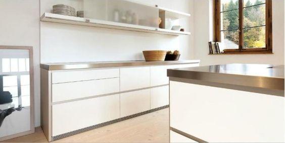 fotos de cocinas blancas - Buscar con Google