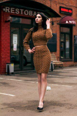 Модное стильное вязание Knitting & Crochet
