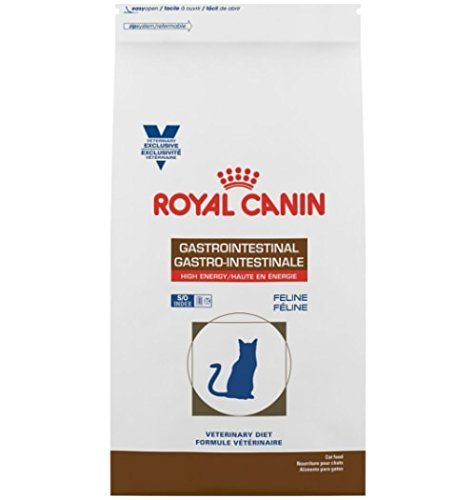 Royal Canin Veterinary Diet Feline Gastrointestinal High Energy He Dry Cat Food 8 8 Lb Check Out The Image By Visiting The Dry Cat Food Cat Food Veterinary
