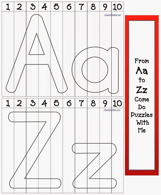 Alphabet number puzzles number puzzles letter i and for Number and letter puzzles