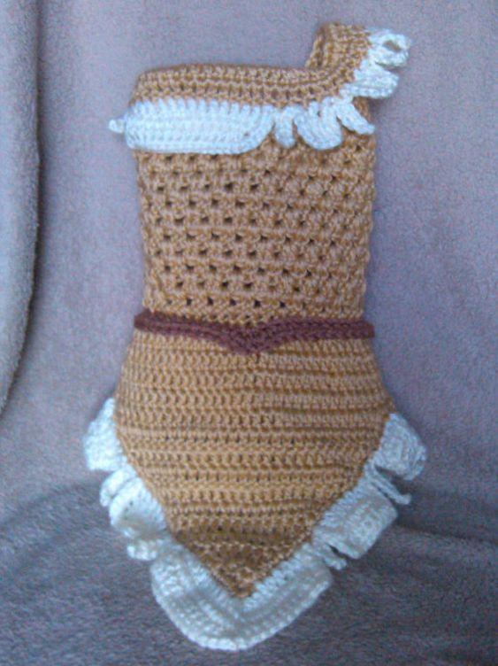 crochet Disney's Pocahontas inspired princess by momscrochetcorner