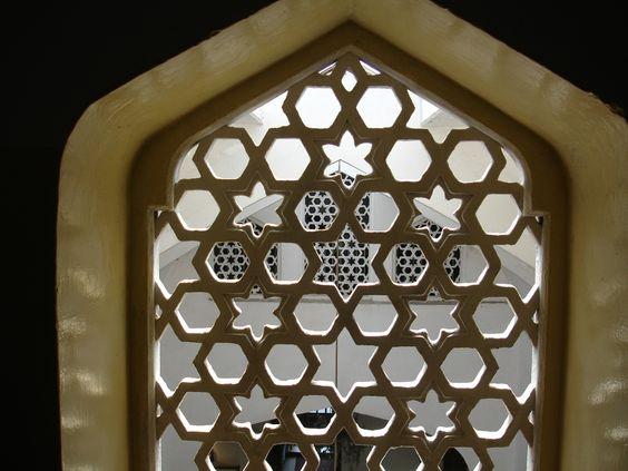 Islamic window screen