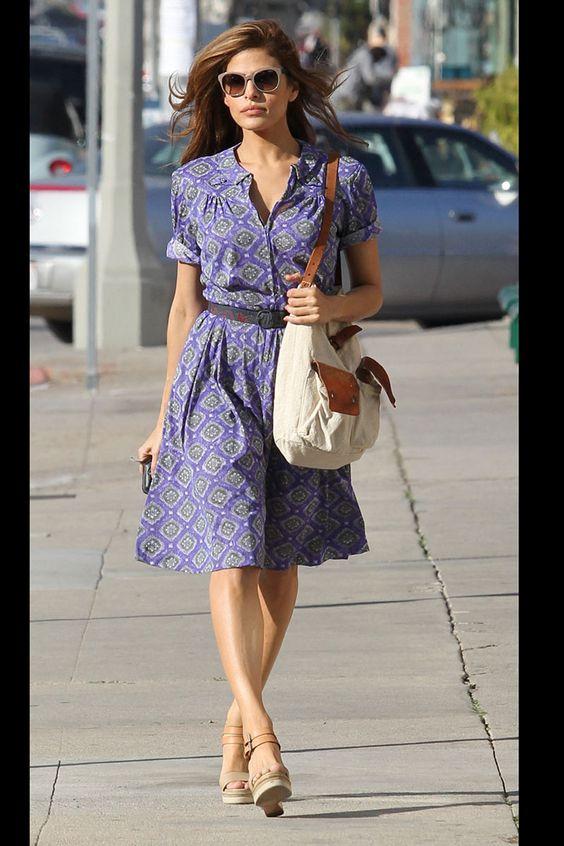 Vestido camisero #moda #estilo