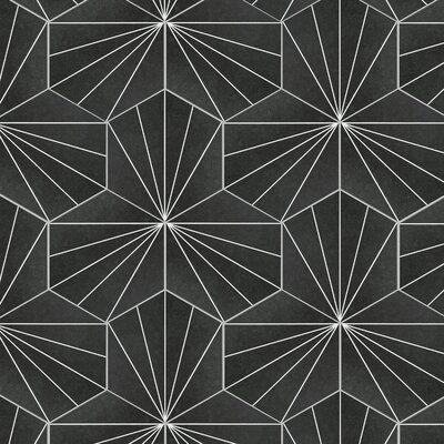 reanna hex 9 x 10 porcelain mosaic
