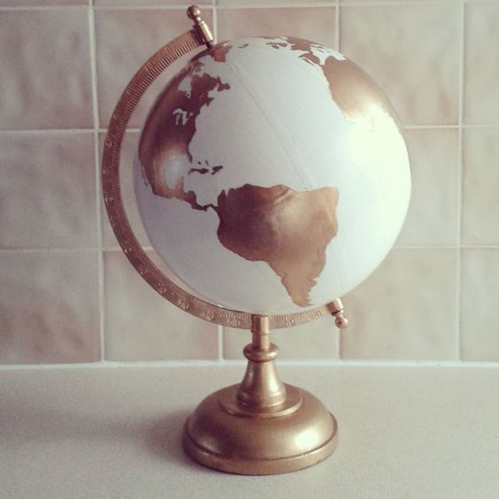 Hey, I found this really awesome Etsy listing at https://www.etsy.com/listing/226711248/hand-painted-globe-wedding-guest-book