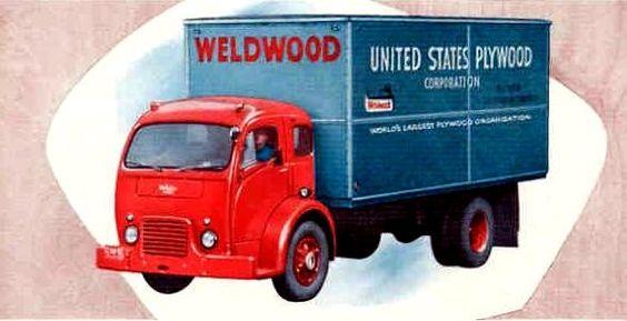 1955 White 3000 (tilt cab) COE.