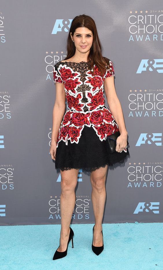 Marisa Tomei wearing Zuhair Murad