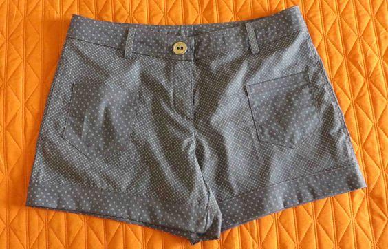 Pantaloncini estivi in cotone elasticizzato www.mettolescarpeedesco.blogspot.com #pantaloncini #shorts #summerstyle