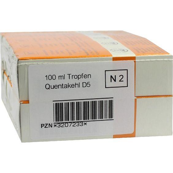 QUENTAKEHL D 5 Tropfen:   Packungsinhalt: 100 ml Tropfen PZN: 03207233 Hersteller: SANUM-KEHLBECK GmbH & Co. KG Preis: 62,17 EUR inkl. 19…