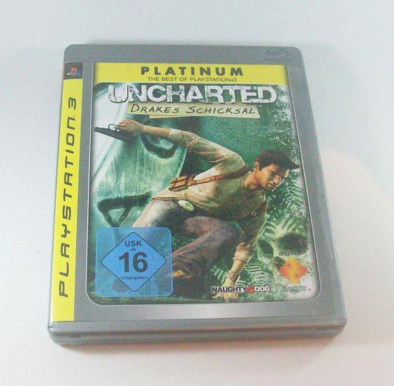 #Uncharted Drakes Schicksal #Playstation 3 Platinum ( #PS3 ) KOMPLETT mit Anleitung