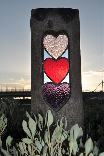 Louise V Durham Stained Glass Sculptures Shoreham by Sea: