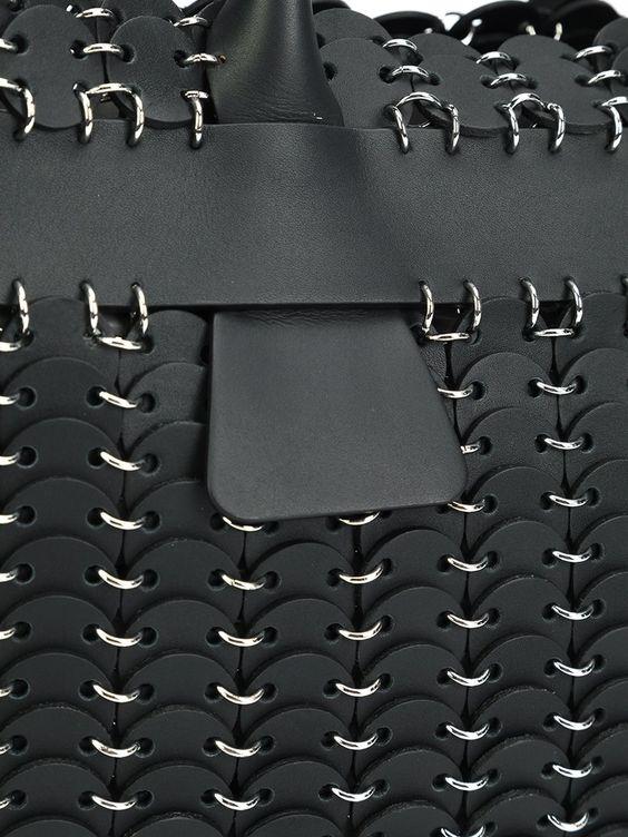 #pacorabanne #cabas #bag #black #tote #women #fashion www.jofre.eu