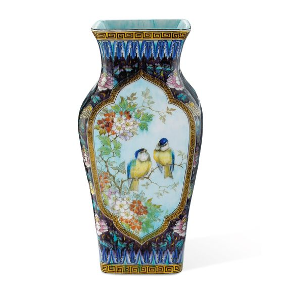 th odore deck 1823 1891 vase aux oiseaux a th odore deck. Black Bedroom Furniture Sets. Home Design Ideas