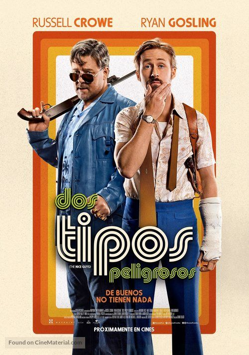The Nice Guys Streaming Vf : streaming, Tipos, Peligrosos'', Argentinian, Movie, Poster., BUENOS, TIENEN, NADA)., (1a)., Series, Online,, Posters, Amazon