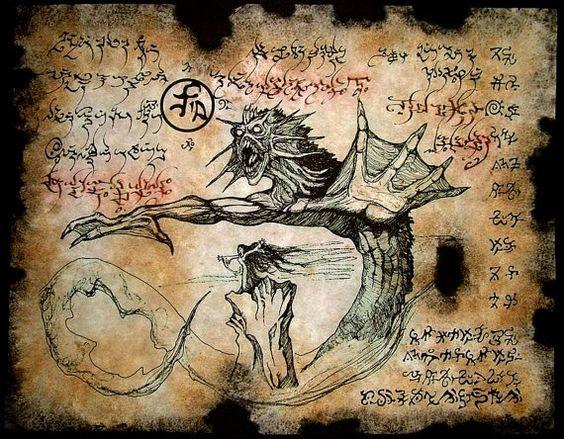 El Necronomicón,un libro salido de los infiernos Fcd4903d60fbc46413ad2311f80e28d8