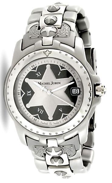 Michel Jordi Spirit of the West Stainless Steel Watch