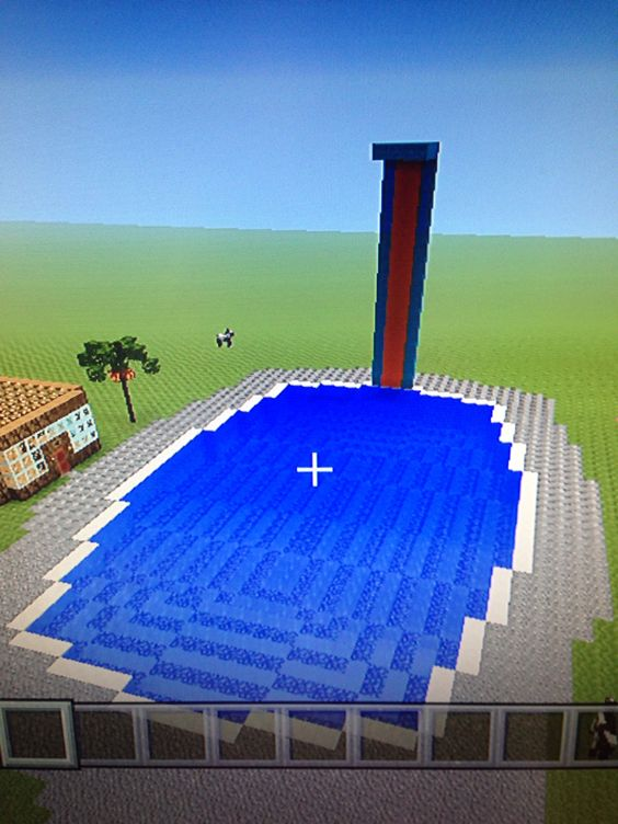 This Is Possibly The Best Swimming Pool Ever Minecraft Houses Pinterest Swimming
