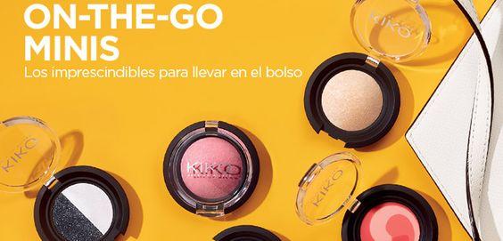 On-the-go Minis, el maquillaje de viaje de Kiko - http://www.muchabelleza.com/on-the-go-minis-el-maquillaje-de-viaje-de-kiko.html