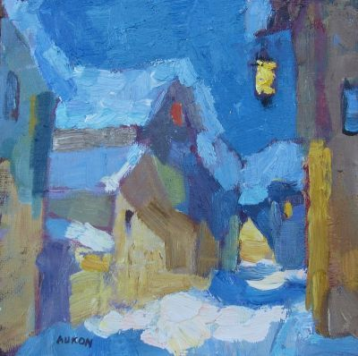 Larisa Aukon oil painting