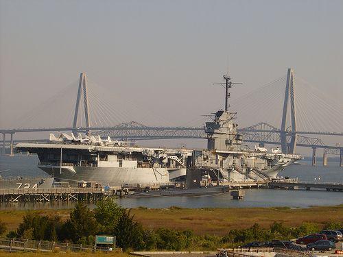 USS Yorktown (Charleston, SC)- Wonderful museum in the harbor of a ...