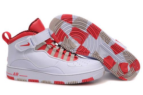 22% OFF Men's Nike Air Jordan 10 & Airforce 1 Shoes White/Red/