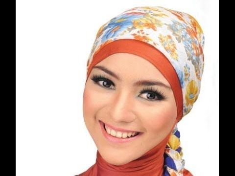Tutorial Jilbab Segi Empat Simple Dan Cantik Untuk Wajah Bulat Wajah Kecantikan Bentuk Wajah