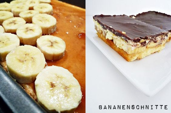 Bananenschnitte
